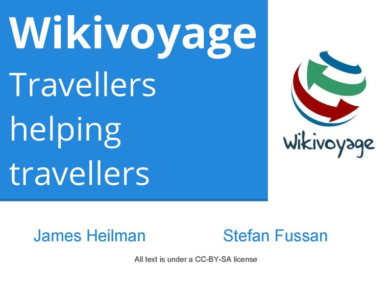 File:Wikimania2013 - Creating a new sister project, the re-birth of Wikivoyage.pdf