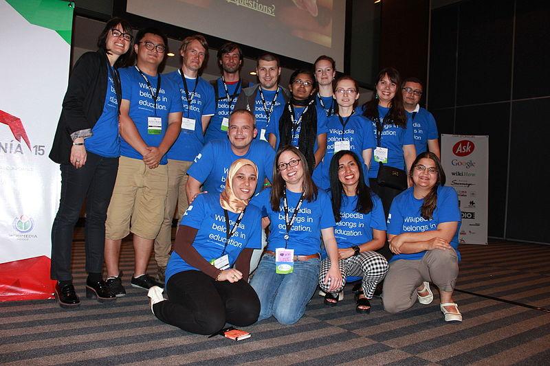 Учасники сесії на тему Освітньої програми. Автор фото — لا روسا [CC-BY-SA-4.0]