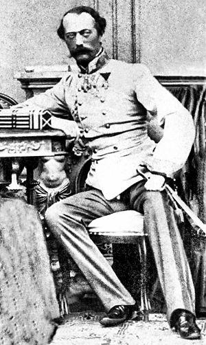 Wilhelm Lenk von Wolfsberg - Wilhelm Freiherr Lenk von Wolfsberg in 1865