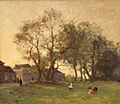 Willem Bastiaan Tholen - Playing under the old Trees.jpg