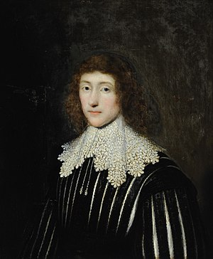 William Cavendish, 3rd Earl of Devonshire - 1631 portrait painting of William Cavendish by Cornelis Janssens van Ceulen