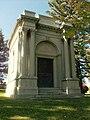 William J. Barker Mausoleum in Fairmount Cemetery, Denver.JPG