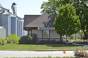 Williamsville former train station.jpg