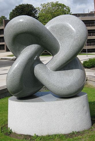 """Willmore energy - """"Willmore Surface"""" sculpture at Durham University in memory of Thomas Willmore"""