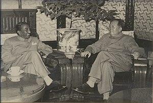 Wilmot A. Perera - Image: Wilmot with Chairman Mao