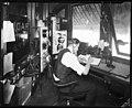 Wireless operator at the harbor, September 1921 (MOHAI 5119).jpg