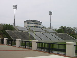 Wofford Terriers - Image: Wofford Gibbs Stadium 2