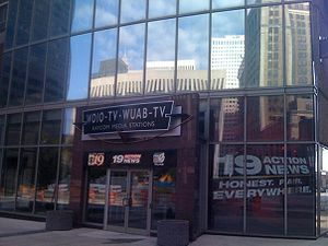 WOIO - WOIO and WUAB's studio facility in Downtown Cleveland.
