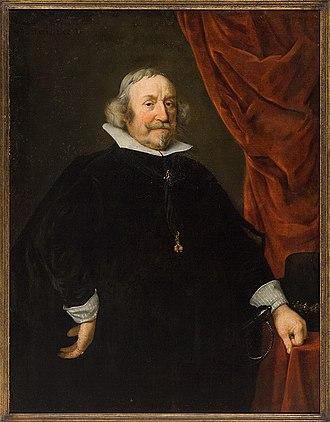 Wolfgang Wilhelm, Count Palatine of Neuburg - Wolfgang Wilhelm, Count Palatine of Neuburg on an engraving by Lucas Vorsterman