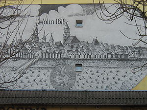 Wolin (town) - Wollin in 1618