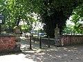 Wolverhampton St Johns Square North gate.JPG