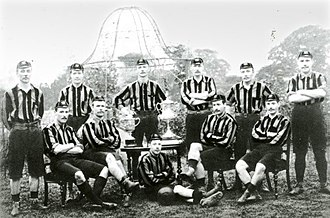 Wolverhampton Wanderers F.C. - Wolves' 1893 FA Cup-winning team