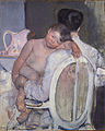 Woman Sitting with a Child in Her Arms - Mary Cassat.jpg