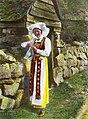 Woman in national costume, ca 1915 (Fylkesarkivet i Sogn og Fjordane).jpg