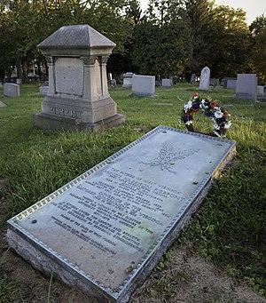 Francis Harrison Pierpont - Grave