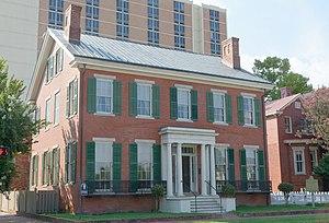 Woodrow Wilson Boyhood Home - The house in 2017
