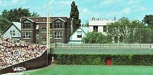 Wrigley Rooftops - Left field rooftops in 1978