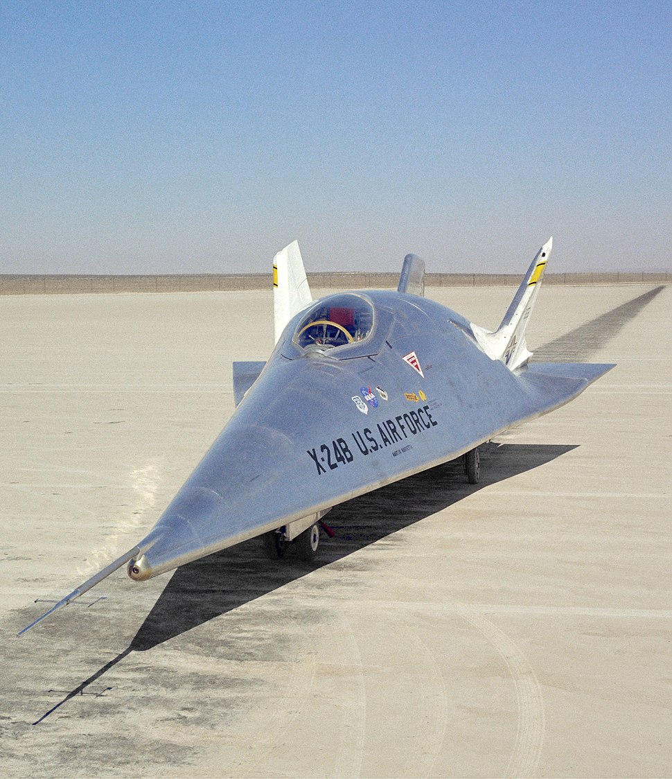 X-24B on Lakebed - GPN-2000-000209