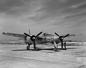 Grumman F7F Tigercat - The second XF7F-1 in 1946.