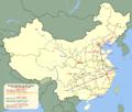 Xi'an–Baoji nagysebességű vasútvonal.PNG