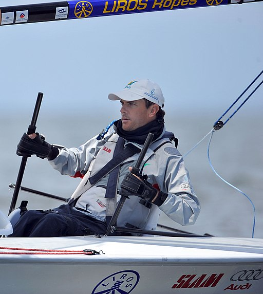 Xx1111 - Daniel Fitzgibbon sailing - 3b - 2011 ISAF Sailing World Cup action photo