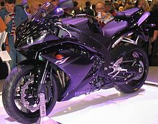 Yamaha R Purple
