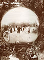 Yard globe, old photo, c..jpg