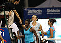Yaroslava Shvedova, Sania Mirza and Sloane Stephens (5993195778).jpg