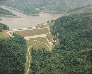 Yatesville Dam