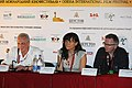 Year of Carnivore and Kolysanka press conference - Odessa International Film Festival - 18 July 2010 - 1.jpg