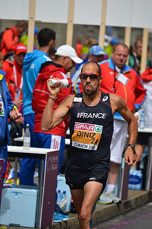 Yohann Diniz - Diniz at the 2014 European Athletics Championships in Zürich