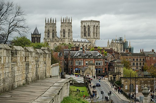 York Minster as seen from the City Wall (2012) - panoramio
