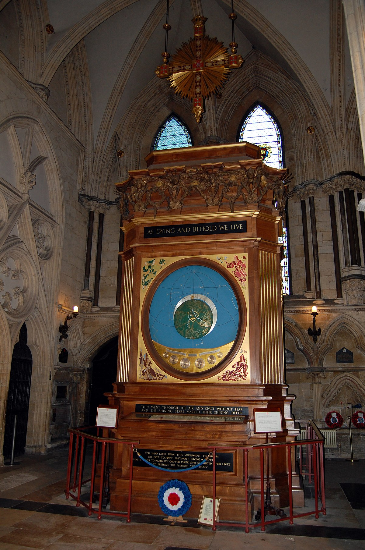 York Minster Astronomical Clock Wikipedia Building A Synchronous