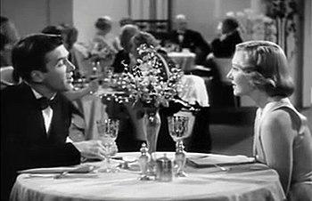 Screenshot of James Stewart and Jean Arthur fr...