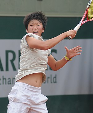You Xiaodi - You at the 2014 French Open
