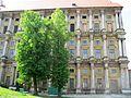 Zámek Plumlov, dvorní fasáda.JPG