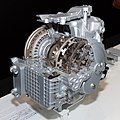 ZF 9-speed automatic transmission front-left 2013 Tokyo Motor Show.jpg
