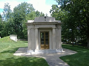 Zachary Taylor National Cemetery - Zachary Taylor's mausoleum