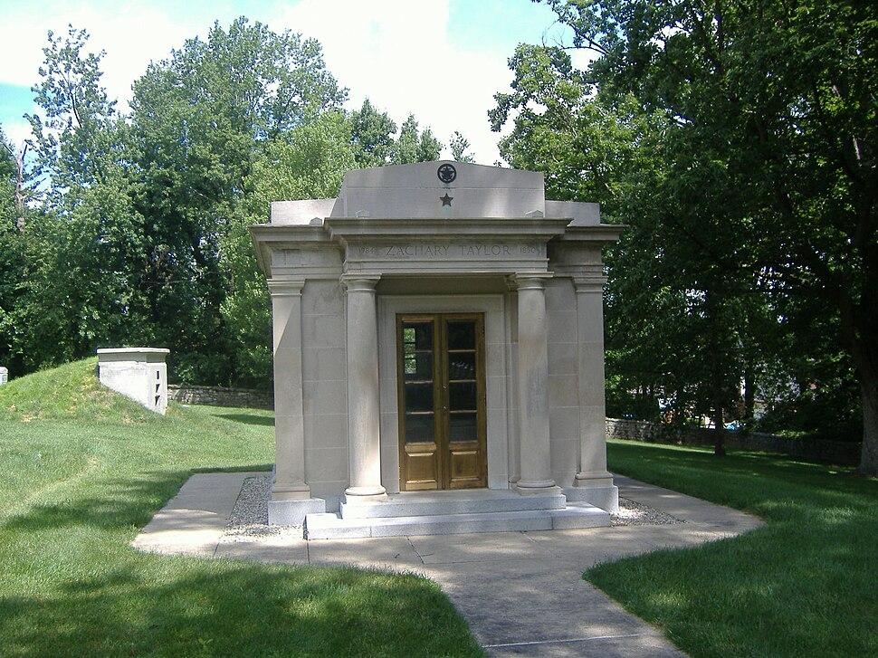 Zachary Taylor Grave