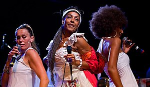 Marie Daulne - Image: Zap Mama in Seattle 2