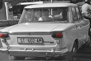 Fiat 1300 and 1500 - Zastava 1300 in Croatia