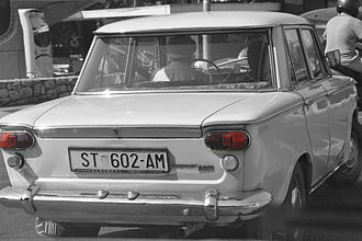 Fiat 1300 and 1500 - Zastava 1300 in Croatia