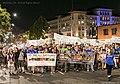 Zoe Rosenberg (16) leading Animal Rights march in Berkeley, CA in 2016.jpg