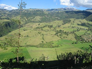 Puracé National Natural Park Protected area in Colombia