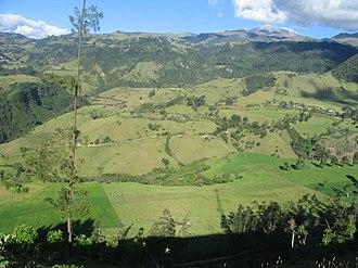 Puracé National Natural Park - Image: Zona Purace