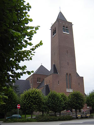 Church of the Sacred Heart in Zottegem, East F...