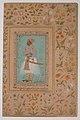 """Portrait of Maharaja Bhim Kanwar"", Folio from the Shah Jahan Album MET sf55-121-10-2a.jpg"