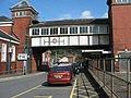 """""""Tacsi"""" Rank at Bangor Station - geograph.org.uk - 1415112.jpg"""