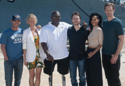 'Battleship' cast and crew promotes film 120428-N-XD424-006.jpg