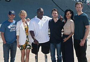 'Battleship' cast and crew promotes film 120428-N-XD424-006.jpg